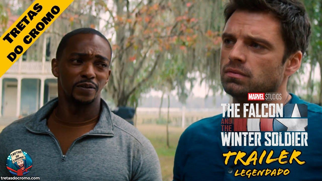 The Falcon e o Winter Soldier recebe o último trailer