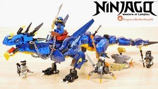Đồ Chơi Xếp Hình LEGO Ninjago 70652 Lắp Ráp Rồng Thần Sấm Sét Của Jay