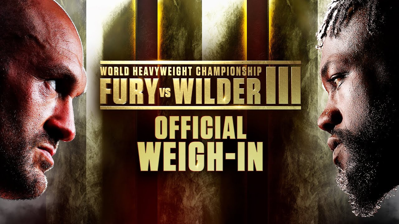 Download Fury vs Wilder III: Official Weigh-In
