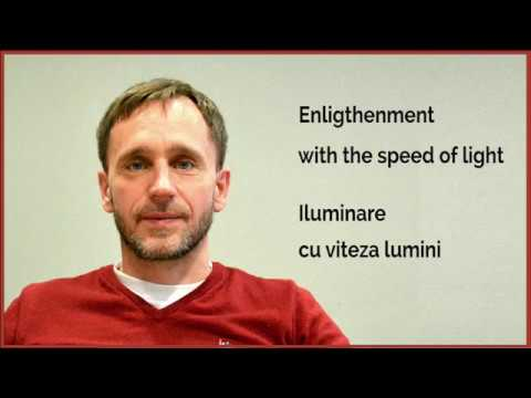 Enlightenment with the speed of light / Iluminare cu viteza luminii - Rune Heivang