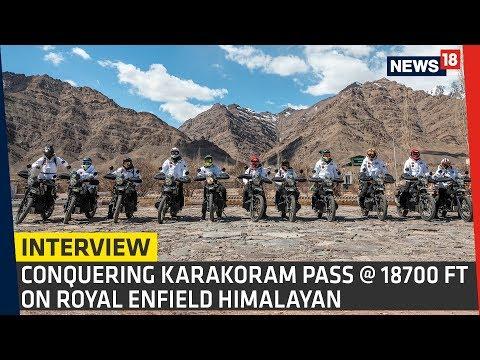 Indian Army Conquers Karakoram Pass at 18,700 FT on Royal Enfield Himalayan | Interview