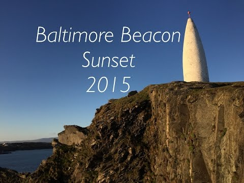 Baltimore Beacon Sunset 2015 (HD)