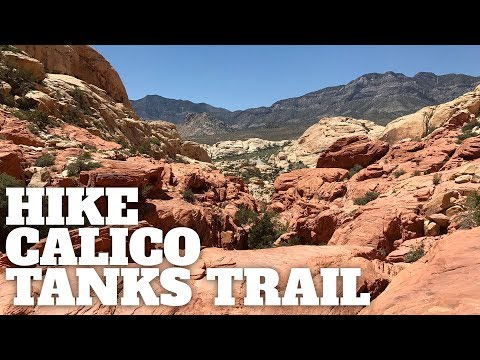 Hike Calico Tanks Trail at Red Rock Canyon