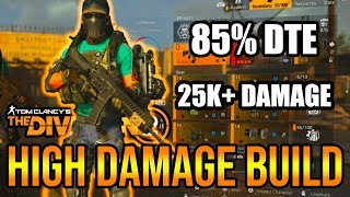 The Division 2 - POWERFUL PVE SOLO AR BUILD! HIGH DAMAGE! 25.5K BASE DAMAGE!