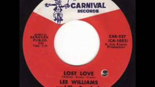Lee Williams & The Cymbals - Lost Love