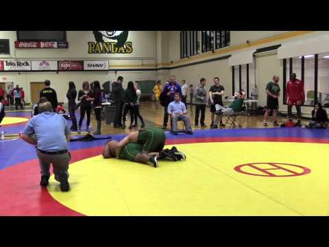 2015 Golden Bear Invitational: 120 kg Bronze Saheel Khan vs. Daniel Oloumi