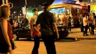 Brutal Street Fight Downtown Austin Texas 2014