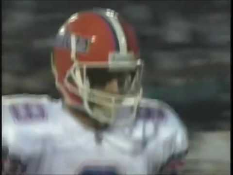 Frankie Luster Picks Off Shane Matthews vs #13 Florida 1992
