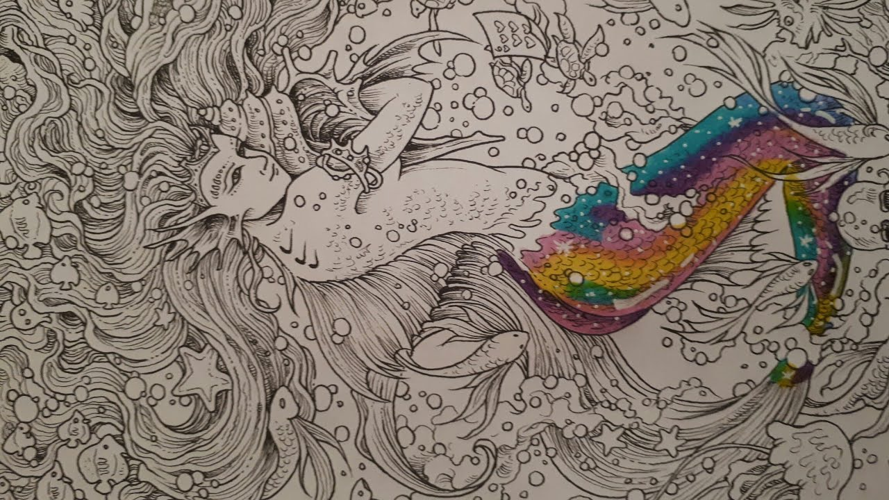 Coloriage sirenes 6 - Coloriages sirenes ...