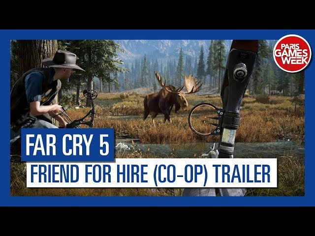 Far Cry 5 - Friend for Hire (Co-Op) Trailer
