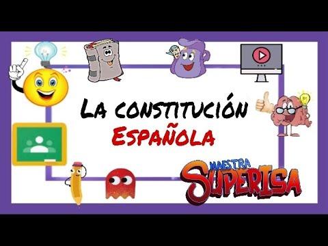 la-constituciÓn-espaÑola-explicada-a-niños-de-primaria