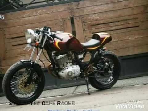 suzuki yes café racer - youtube