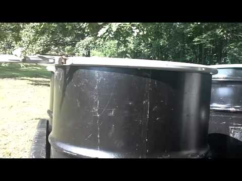 FOOD PREPPING: 55 GALLON DRUMS