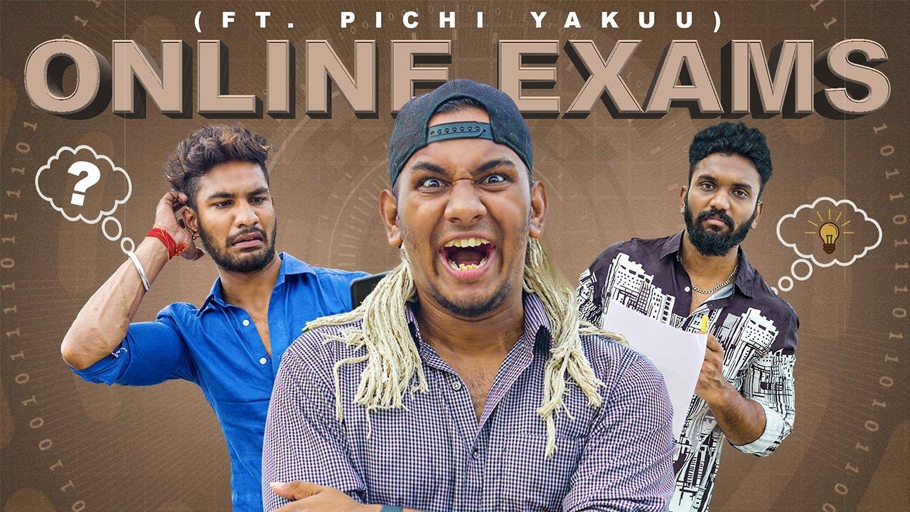 ONLINE EXAMS ft. Pichi Yakuu | Warangal Diaries