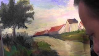 Научиться рисовать пейзаж, импрессионизм , Сахаров Игорь
