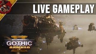 Battlefleet Gothic Armada 2 - Livestream 1v1