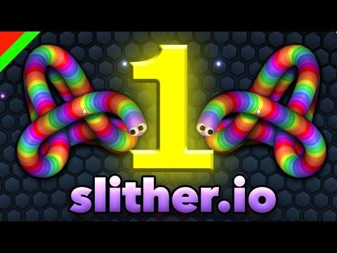 คว้าอันดับ 1 ของเซิฟ..... - Slither.io (ตลก,ฮา)