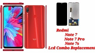 Redmi Note 7 Note 7s Note 7 Pro Lcd Combo Replacement
