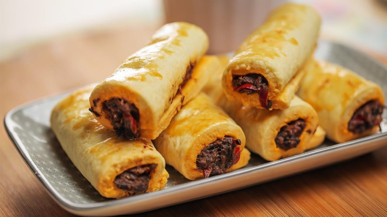 Resipi Sardin Gulung Bakar Baked Sardine Roll Recipe Youtube