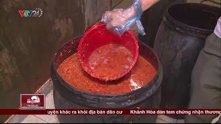 Kinh hoàng chứng kiến tương cơ sở sản xuất tương ớt có giòi ở Bình Dương | VTV24