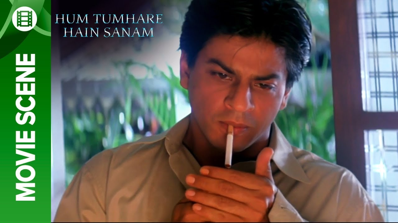 Shahrukh is angry with Salman - Hum Tumhare Hain Sanam