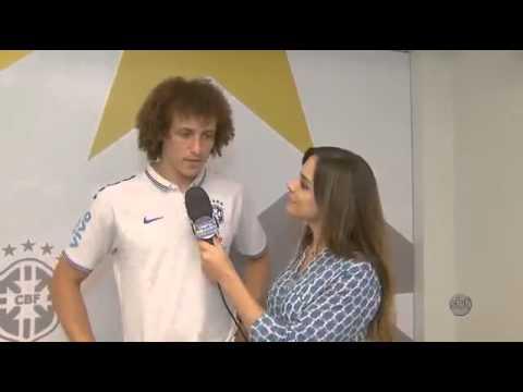 David Luiz no Arena SBT 050714