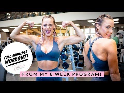 FULL SHOULDER WORKOUT l Tawna Eubanks 8 Week Program