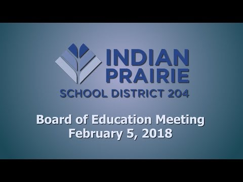 School Board Meeting: 02/05/2018