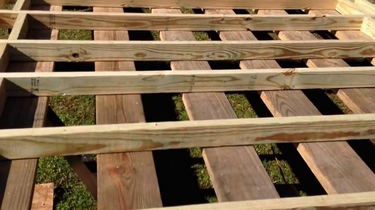 How to Build A Tiny House Episode 2 Subfloor Framing Cont