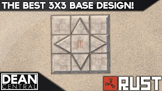 Strongest 3x3 Solo Base Design | Advanced Rust Building #10