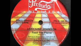 Lorraine Johnson - Feed The Flame (Superprince Edit)
