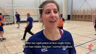 EHF-repræsentanter prøver Five-a-side Håndbold
