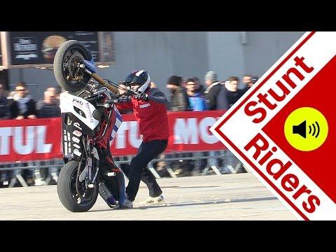Motorcycle Stunt Show - CRAZY tricks - Motor Bike Expo 2016