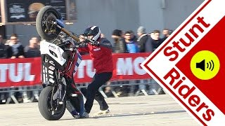 Motorcycle Stunt Show - CRAZY tricks - Motor Bike Expo 2016