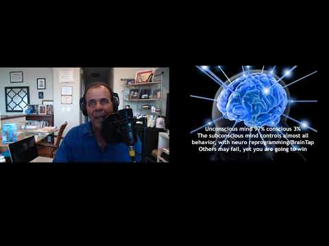 Mind Mastery For Longevity, Weight Loss, Goals, Using NLP, Eyes Open Hypnosis, Neuro Reprogramming,