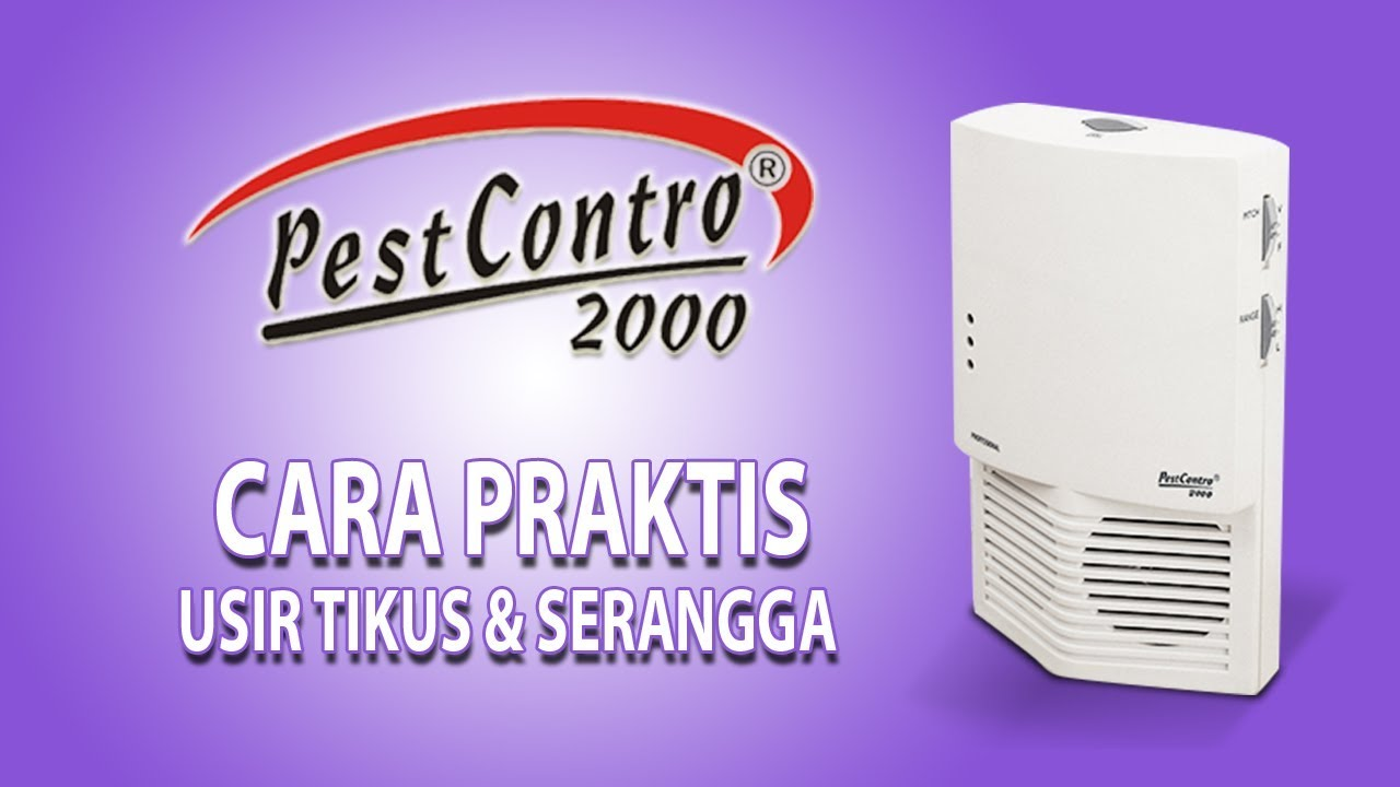 PEST CONTRO 2000 - Alat Pengusir Tikus Paling Efektif
