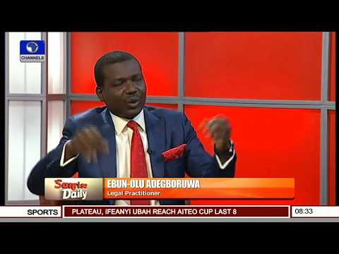 Operation Python Dance Is Illegal - Ebun-Olu Adegboruwa Pt 4 | Sunrise Daily |