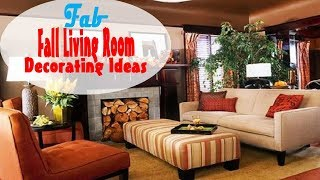 2017 Fall Living Room Decorating Ideas