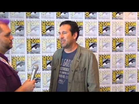 Once Upon A  s Zack Estrin at San Diego ComicCon 2013