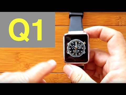 FINOW Q1 Android 5.1 Smartwatch: First Look