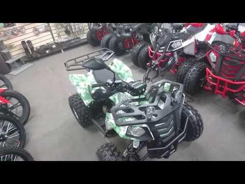 Обзор подросткового квадроцикла WELS Thunder EVO X 125/