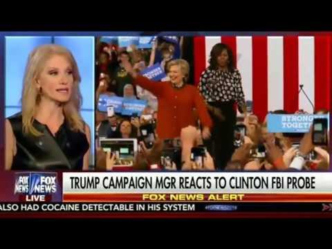 Justice w  Judge Jeanine   Oct 29, 2016   Interview w  Kellyanne Conway, Lara Trump, Rudy Giuliani