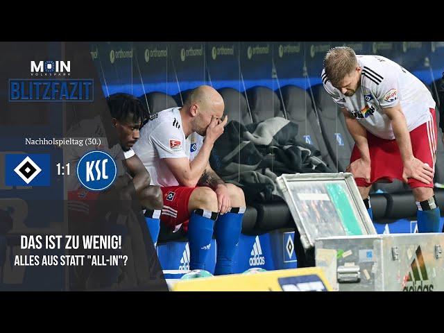 Scholles Blitzfazit zum Spiel | HSV 1:1 Karlsruher SC / Saison 20/21 | #018