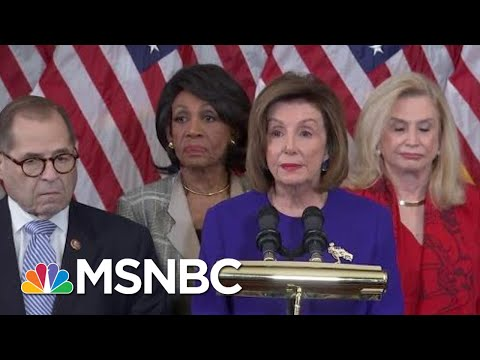 House Dems Charge Trump With 'High Crimes And Misdemeanors' In Two Articles Of Impeachment | MSNBC
