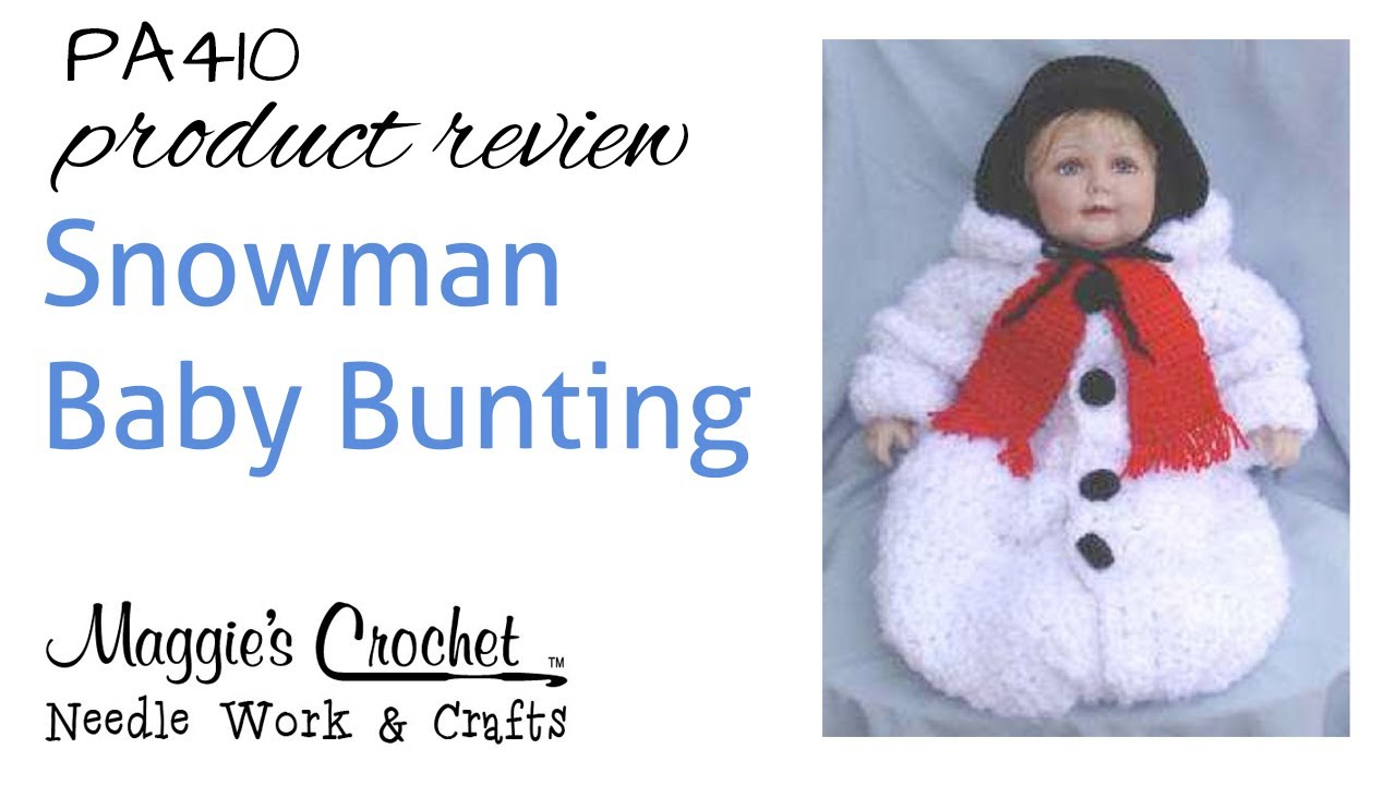 Snowman Baby Bunting Product Review Pa410 Youtube