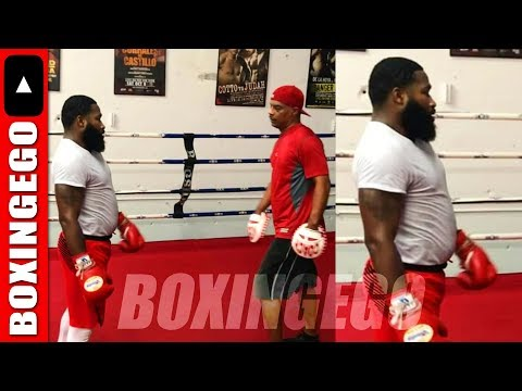 ADRIEN BRONER CURRENT FORM - TRAINING FOR PACQUIAO SIDE BY SIDE W/ GERVONTA | BOXINGEGO