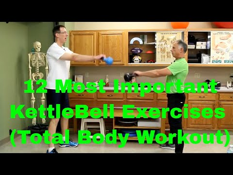 12 Most Important Kettlebell Exercises for a Total Body Workout.