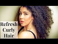 How I Refresh My Curls/ Knot Today Leave In Conditioner!