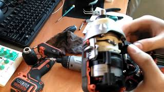Black&Decker BL186KB-QW обзор и разборка