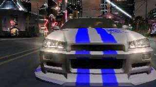 NFS Underground 2 Nissan Skyline Final Boss.avi